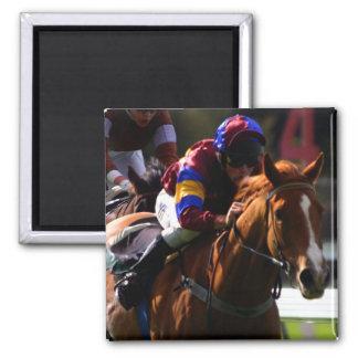 Imán cuadrado de la carrera de caballos