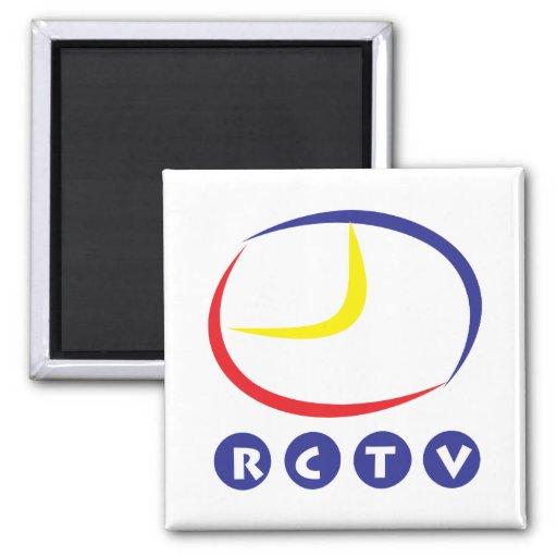 Imán cuadrado de RCTV