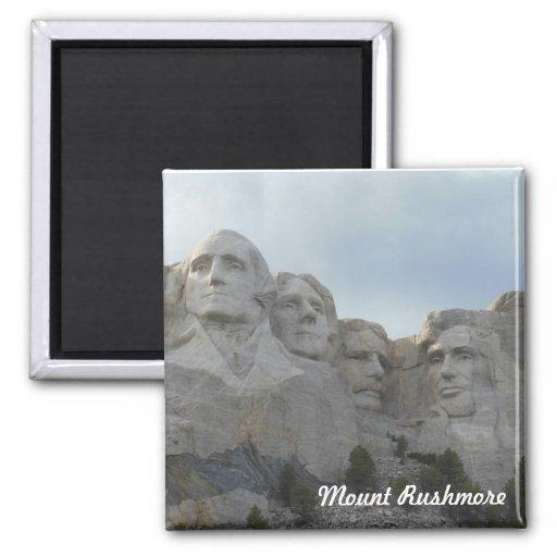 Imán cuadrado del monte Rushmore