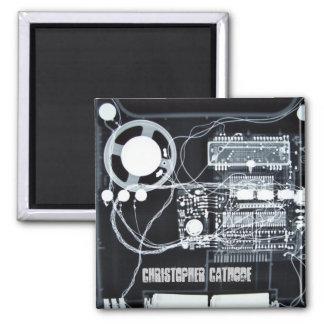 Imán cuadrado - modificado para requisitos particu