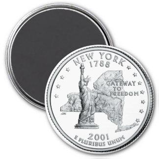 Imán cuarto 2001 del Estado de Nuevo York