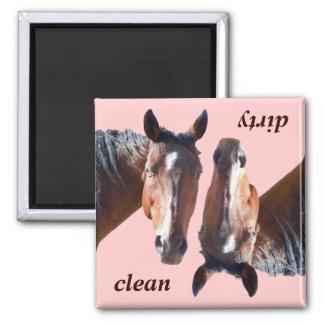 Imán cuarto americano del lavaplatos del caballo