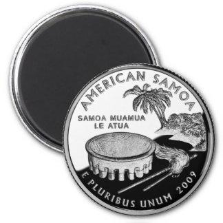 Imán cuarto del refrigerador de Samoa