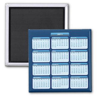 Imán de 2011 calendarios