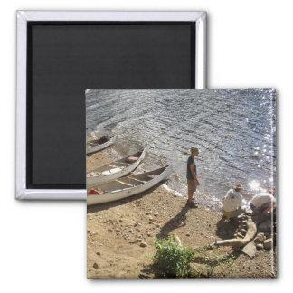 Imán de 3 canoas de los exploradores 3