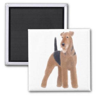 Imán de Airedale Terrier