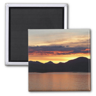 Imán de Alaska de la puesta del sol I