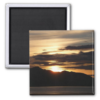 Imán de Alaska de la puesta del sol III