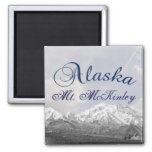 Imán de Alaska Mt McKinley