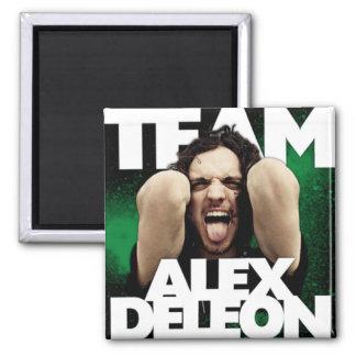 Imán de Alex DeLeon del equipo