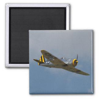 Imán de aluminio del rayo P-47