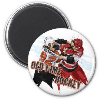 Imán de antaño del hockey
