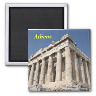 imán de Atenas del acrópolis-parthenon