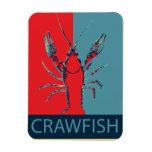 Imán de B. Crawfish Photo de los cangrejos