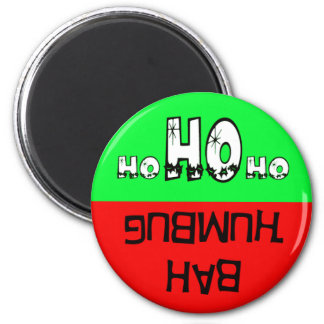 Imán de Bah humbug/Ho ho ho