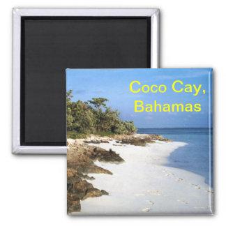 Imán de Bahamas de la isleta de los Cocos
