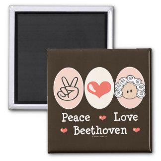 Imán de Beethoven del amor de la paz