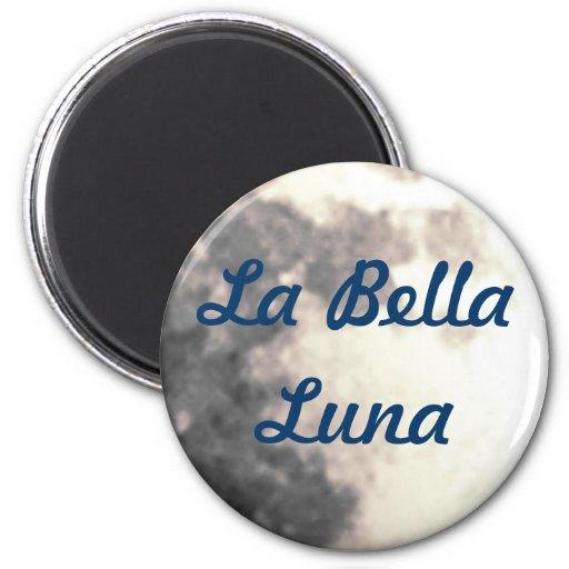 Imán de Bella Luna del La