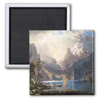 Imán de Bierstadt el lago Tahoe