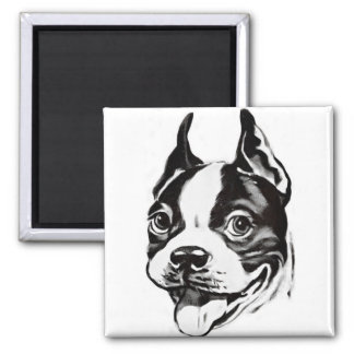 Imán de Boston Terrier
