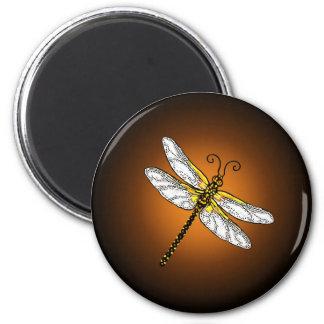 Imán de bronce de las libélulas de la libélula del
