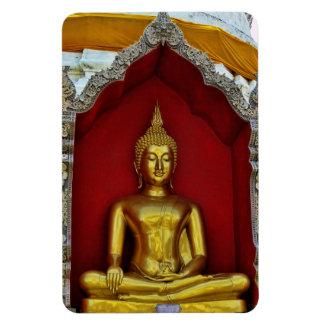 Imán de Buda del oro