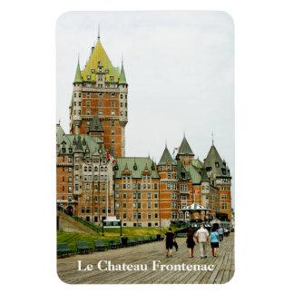 Imán de Canadá de la ciudad de Le Chateau Frontena