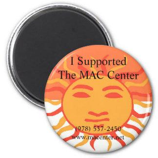 Imán de centro del MAC