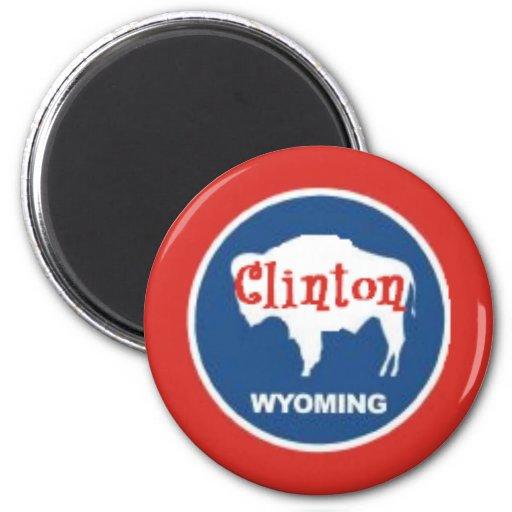 Imán de Clinton WYOMING