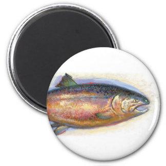 Imán de color salmón
