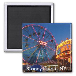 Imán de Coney Island
