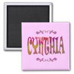 Imán de Cynthia