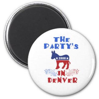 Imán de DNC Denver