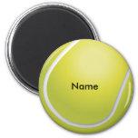 Imán de encargo de la pelota de tenis