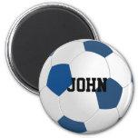 Imán de encargo del balón de fútbol