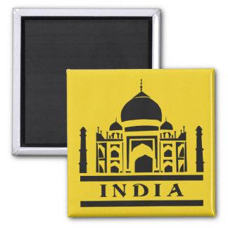 Imán de encargo del color de la INDIA