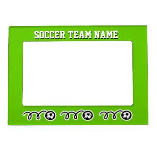 Imán de encargo del marco del equipo de fútbol par marcos magneticos para fotos