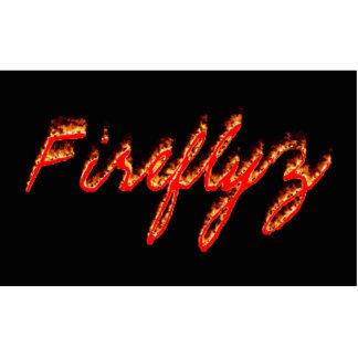 Imán de Fireflyz Fotoescultura Vertical