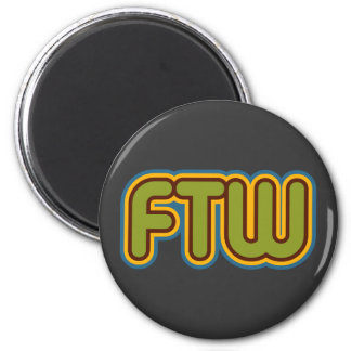 Imán de FTW