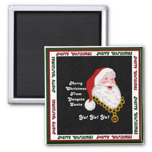 Imán de Gangsta Santa