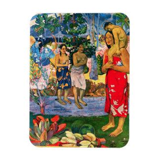 Imán de Gauguin Ia Orana Maria