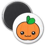 Imán de Halloween de la calabaza de Kawaii
