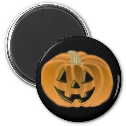 Imán de Halloween de la linterna de Jack O