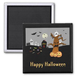 Imán de Halloween del cementerio del RASGÓN