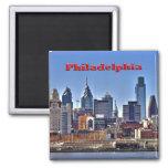 Imán de HDR del horizonte de Philly