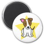 Imán de Jack Russell Terrier de la estrella de Kaw