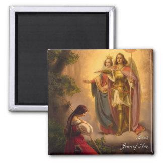 Imán de Juana de Arco del santo