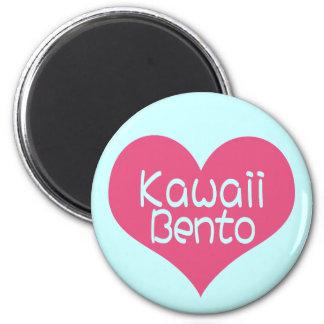 Imán de Kawaii Bento del amor