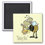 """""""Imán de la abeja de la miel"""""""