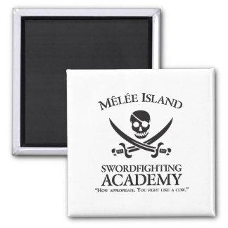 Imán de la academia de Swordfighting de la isla de